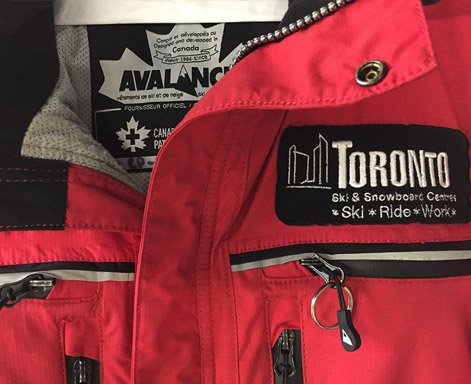 Toronto Sport Team Jacket cleaning