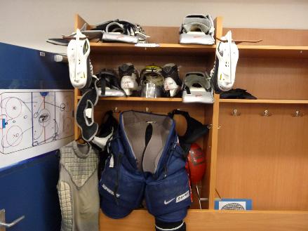 Hockey Equipment Cleaning
